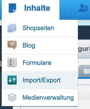 shopware-import-export