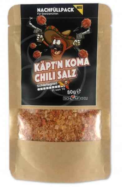 Schärfste Chili der Welt Salz | Käptn Koma Gewürzsalz online kaufen