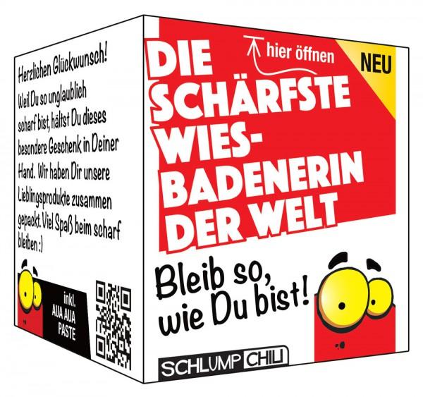 Die schärfste Wiesbadenerin der Welt - Ein witziges Geschenk!