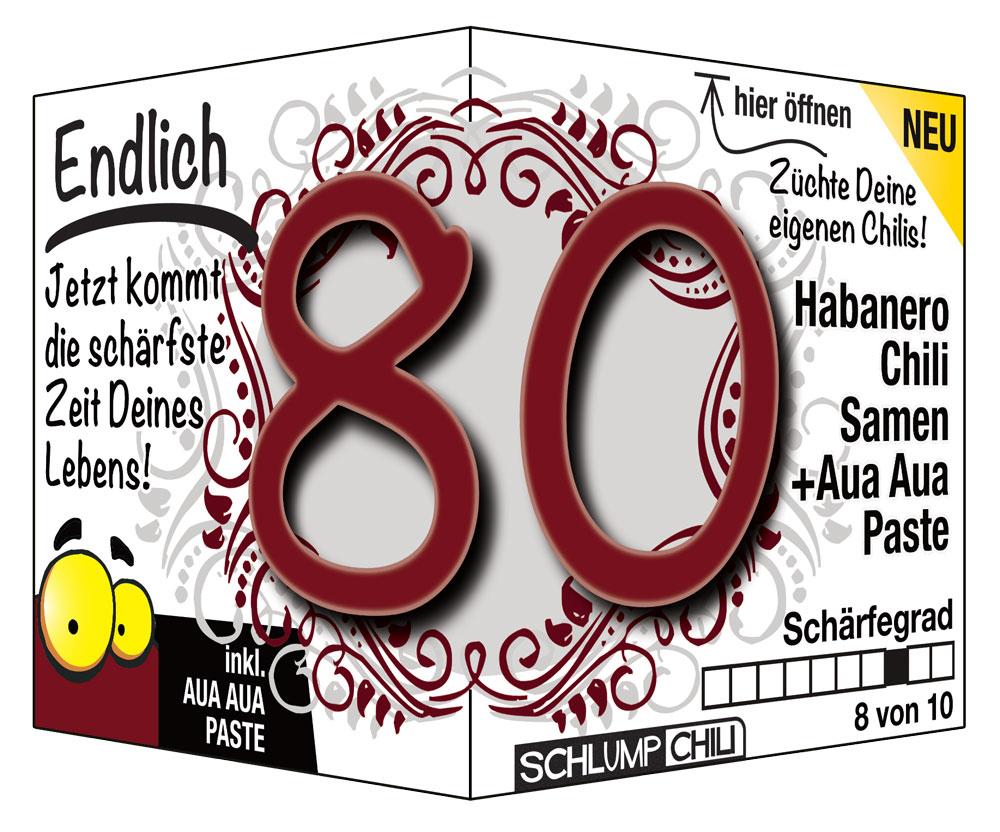 80 Geburtstag Geschenke