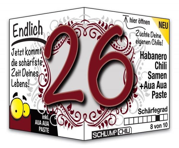 Endlich 26 - Ein scharfes Geschenk zum Geburtstag!
