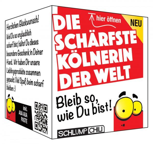 Die schärfste Kölnerin der Welt - Ein witziges Geschenk!
