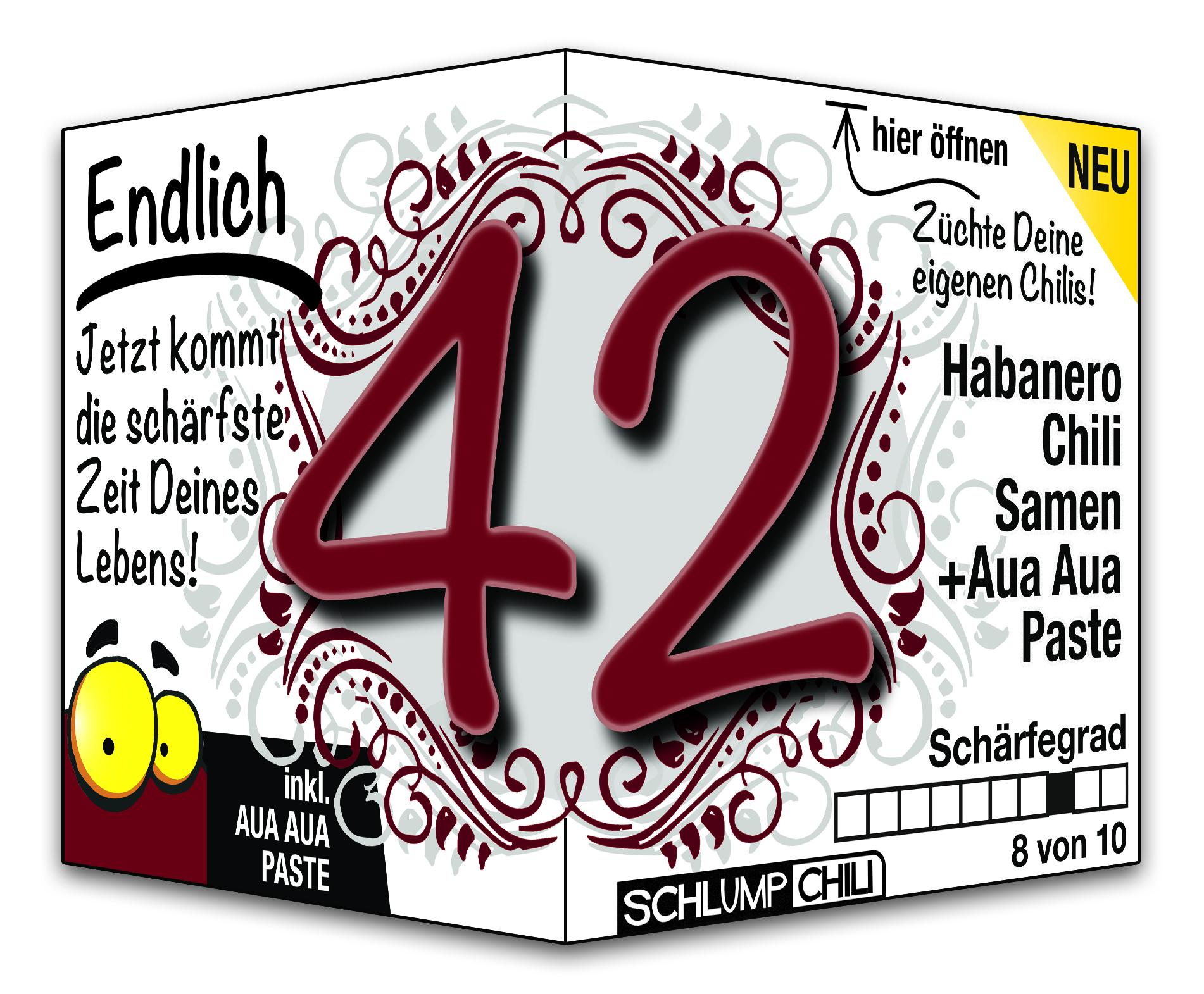 42 Geburtstag Bilder
