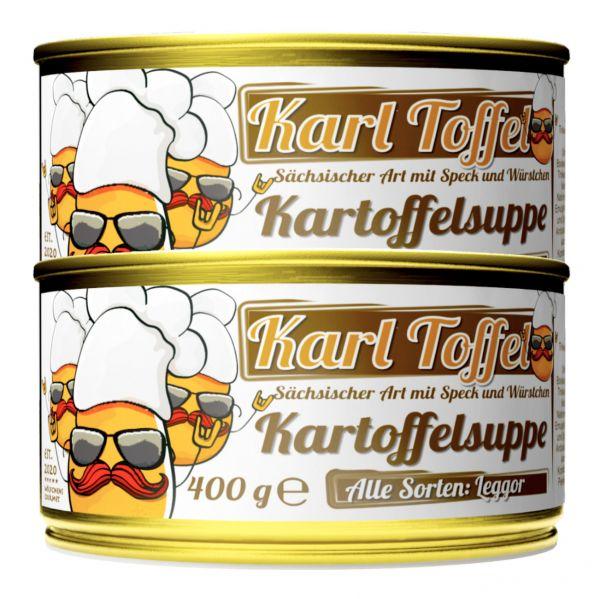 KARL TOFFEL Kartoffelsuppe in der Dose 2er Set