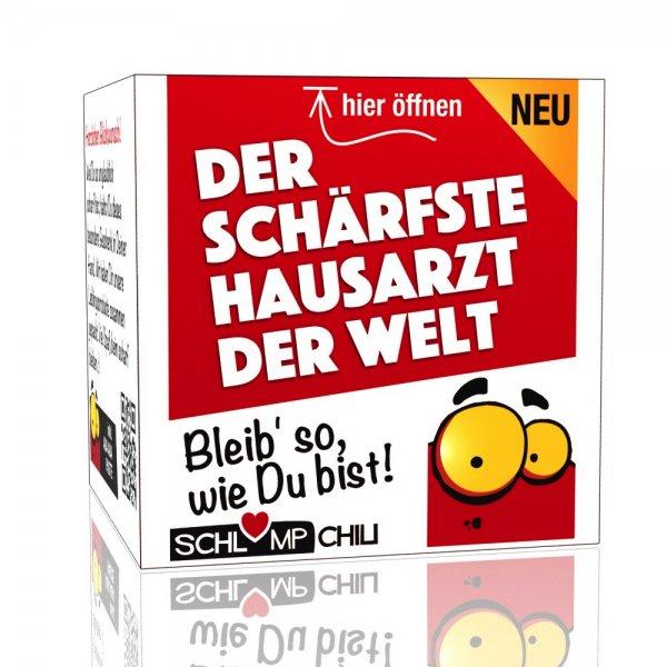Der schärfste Hausarzt der Welt - Ein witziges Geschenk!