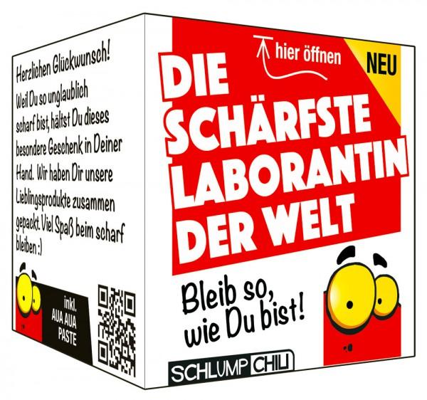 Die schärfste Laborantin der Welt - Ein witziges Geschenk!