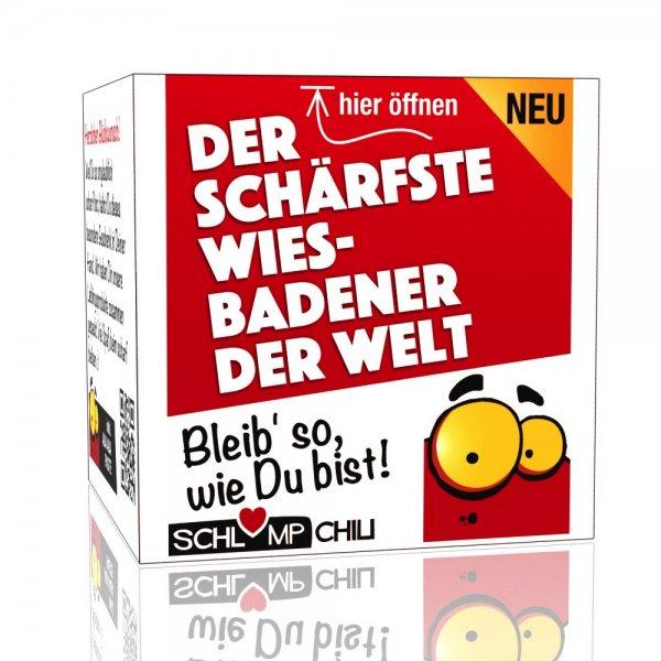 Der schärfste Wiesbadener der Welt - Ein witziges Geschenk!