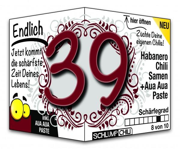 Endlich 39 - Ein scharfes Geschenk zum Geburtstag!