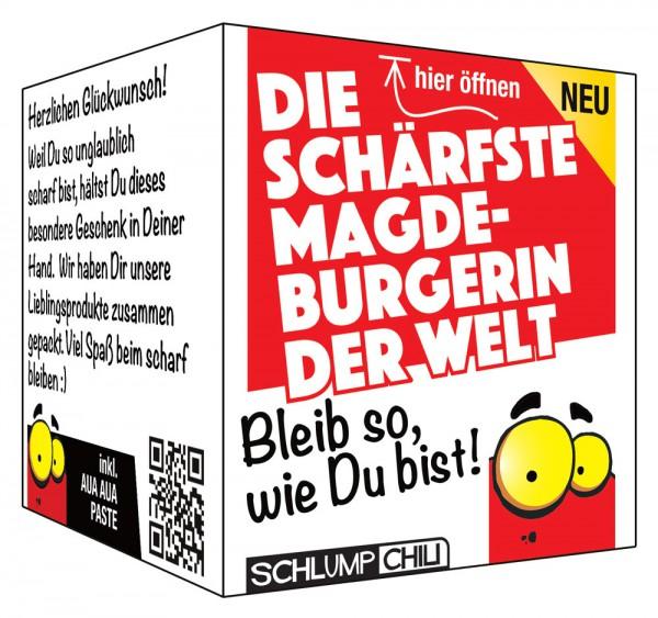 Die schärfste Magdeburgerin der Welt - Ein witziges Geschenk!
