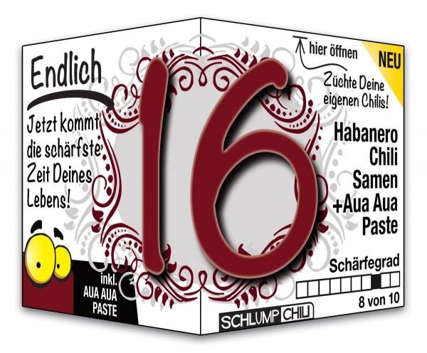 Endlich 16 - Ein scharfes Geschenk zum Geburtstag!