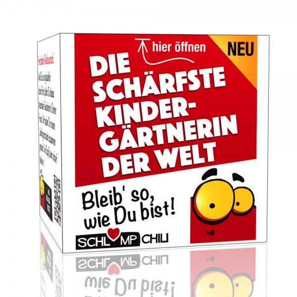 Die schärfste Kindergärtnerin der Welt - Ein witziges Geschenk!