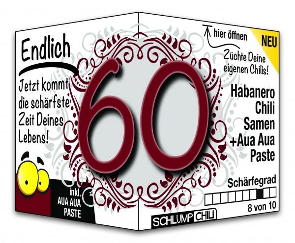 Endlich 60 - Ein scharfes Geschenk zum Geburtstag!