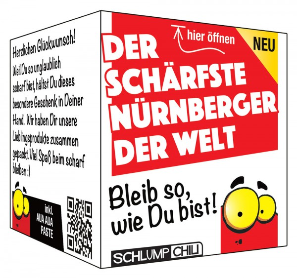Der schärfste Nürnberger der Welt - Ein witziges Geschenk!