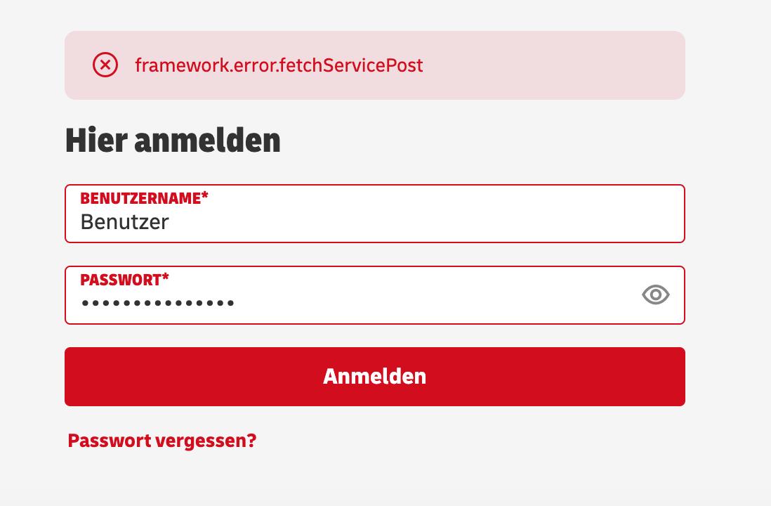 dhl-framework-error