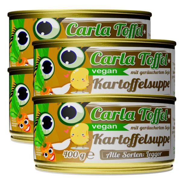 CARLA TOFFEL⎪vegane Kartoffelsuppe mit geräuchertem Soja (4 x 400g)