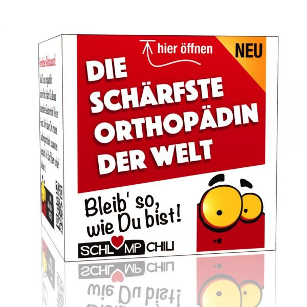 Die schärfste Orthopädin der Welt - Ein witziges Geschenk!