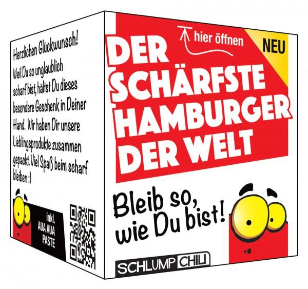 Der schärfste Hamburger der Welt - Ein witziges Geschenk!