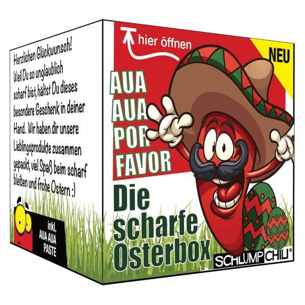 Die scharfe Osterbox - Ein witziges Ostergeschenk!