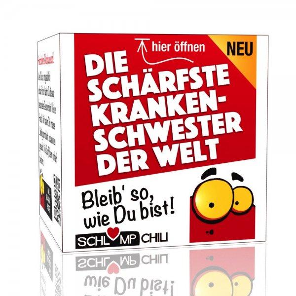 Die schärfste Krankenschwester der Welt - Ein witziges Geschenk!