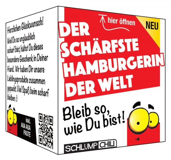 Die schärfste Hamburgerin der Welt - Ein witziges Geschenk!