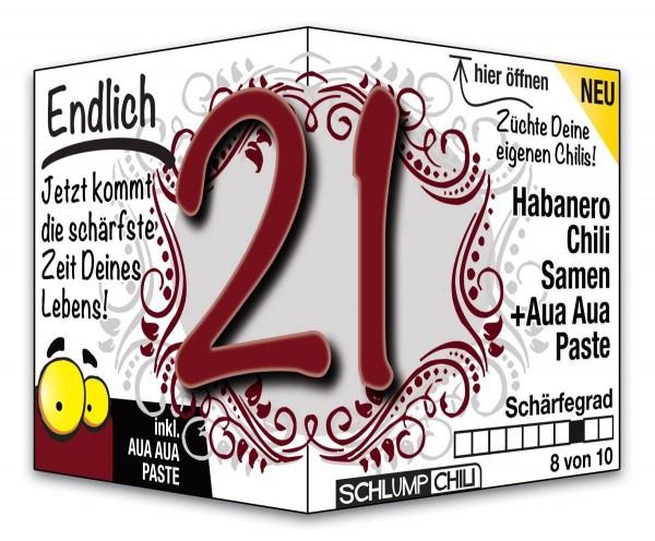 Endlich 21 - Ein scharfes Geschenk zum Geburtstag!
