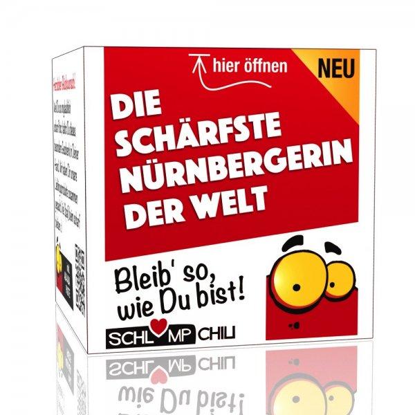 Die schärfste Nürnbergerin der Welt - Ein witziges Geschenk!