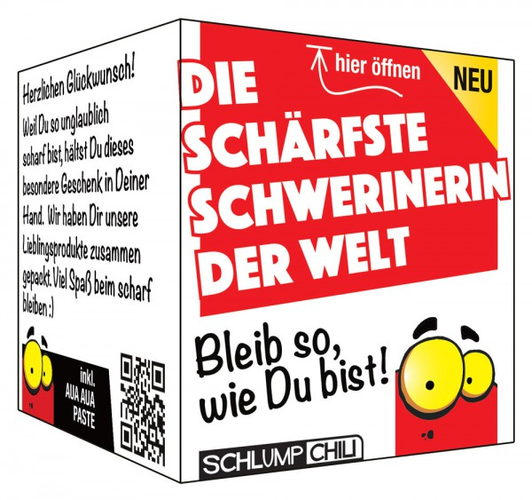 Die schärfste Schwerinerin der Welt - Ein witziges Geschenk!