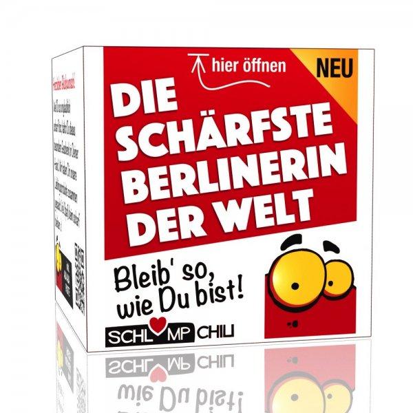 Die schärfste Berlinerin der Welt - Ein witziges Geschenk!