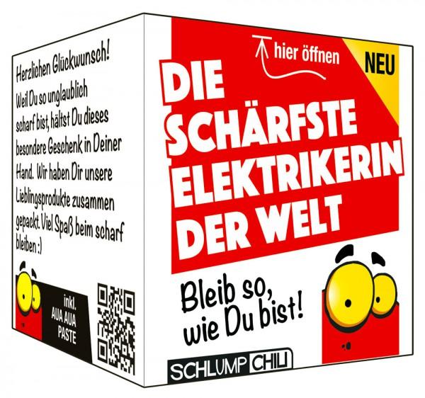 Die schärfste Elektrikerin der Welt - Ein witziges Geschenk!