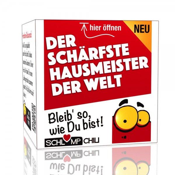 Der schärfste Hausmeister der Welt - Ein witziges Geschenk!