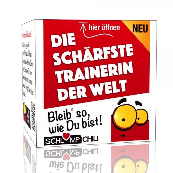 Die schärfste Trainerin der Welt - Ein witziges Geschenk!