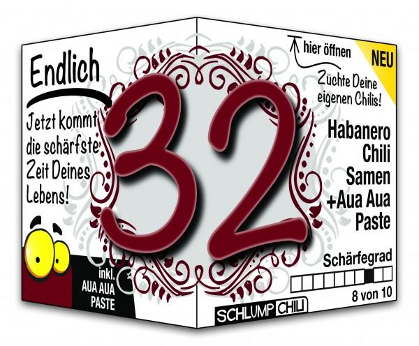 Endlich 32 - Ein scharfes Geschenk zum Geburtstag!