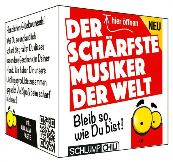 Der schärfste Musiker der Welt - Ein witziges Geschenk!