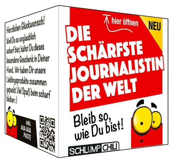 Die schärfste Journalistin der Welt - Ein witziges Geschenk!