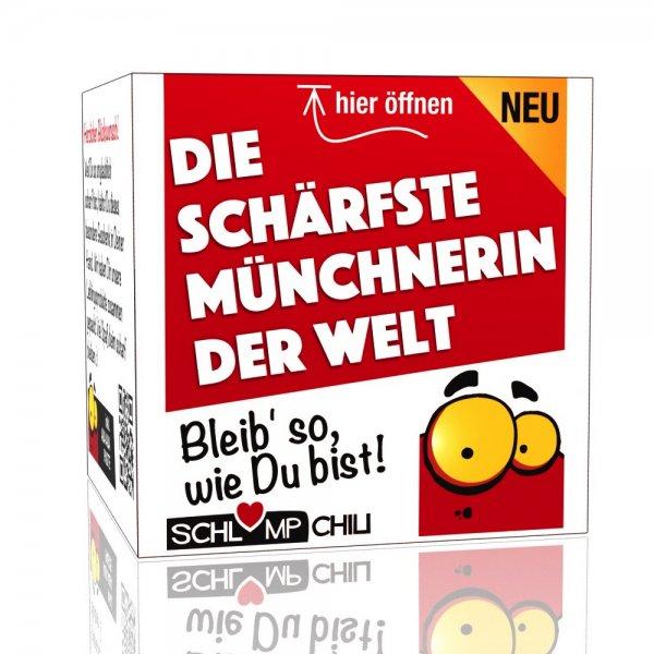 Die schärfste Münchnerin der Welt - Ein witziges Geschenk!
