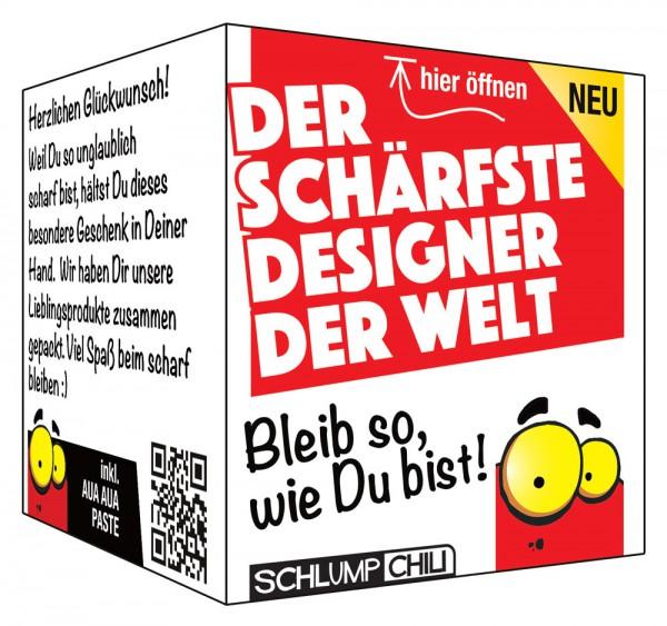 Der schärfste Designer der Welt - Ein witziges Geschenk!