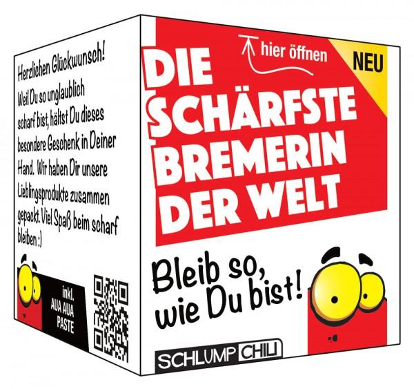 Die schärfste Bremerin der Welt - Ein witziges Geschenk!