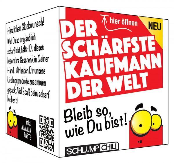 Der schärfste Kaufmann der Welt - Ein witziges Geschenk!