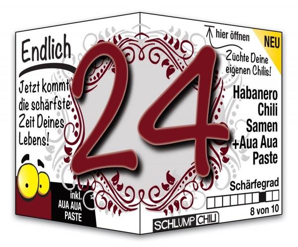 Endlich 24 - Ein scharfes Geschenk zum Geburtstag!