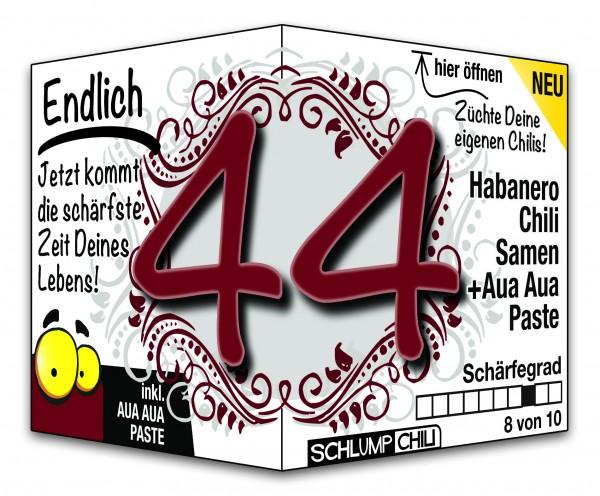 Endlich 44 - Ein scharfes Geschenk zum Geburtstag!