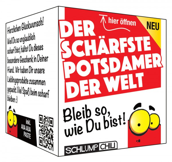 Der schärfste Potsdamer der Welt - Ein witziges Geschenk!