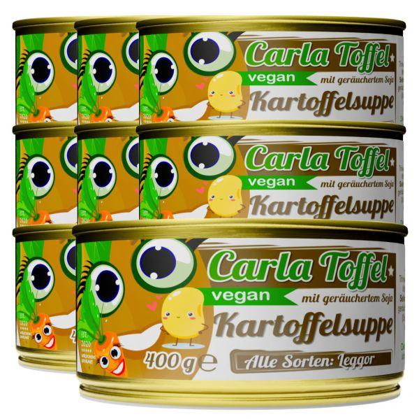 CARLA TOFFEL⎪vegane Kartoffelsuppe mit geräuchertem Soja (8 x 400g)