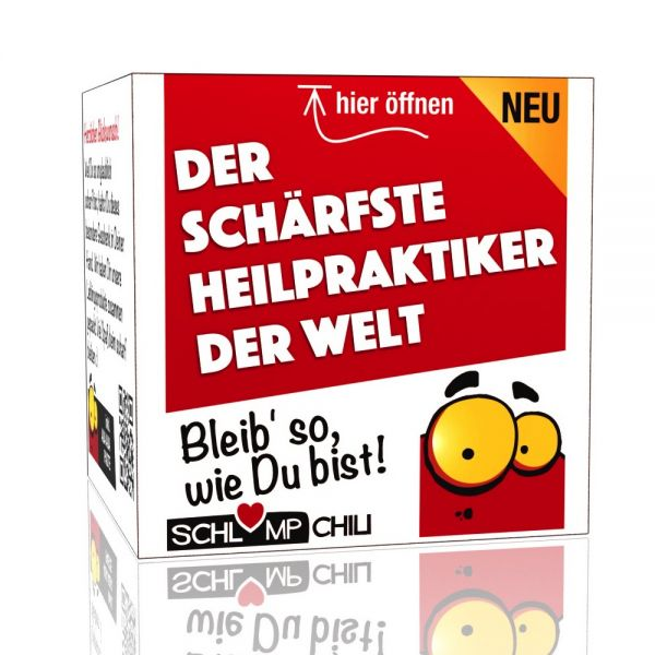 Der schärfste Heilpraktiker der Welt - Ein witziges Geschenk!