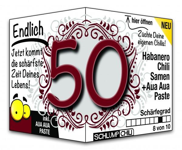 Endlich 50 - Ein scharfes Geschenk zum Geburtstag!