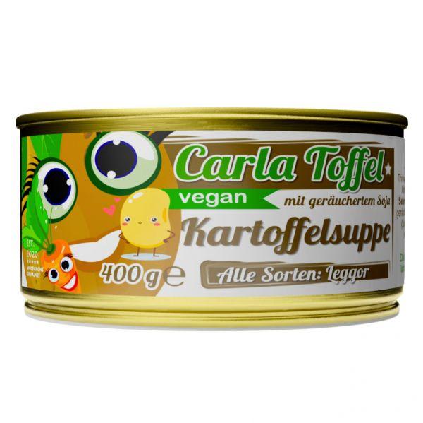 CARLA TOFFEL⎪vegane Kartoffelsuppe mit geräuchertem Soja (1 x 400g)