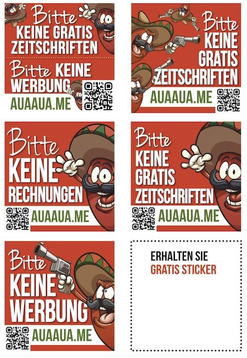 gratis-sticker-keine-Werbung