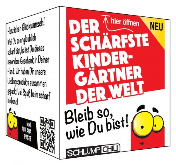 Der schärfste Kindergärtner der Welt - Ein witziges Geschenk!