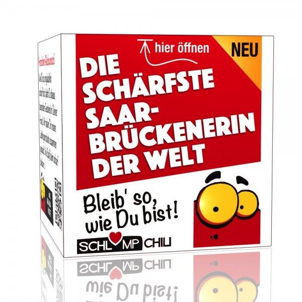 Die schärfste Saarbrückenerin der Welt - Ein witziges Geschenk!