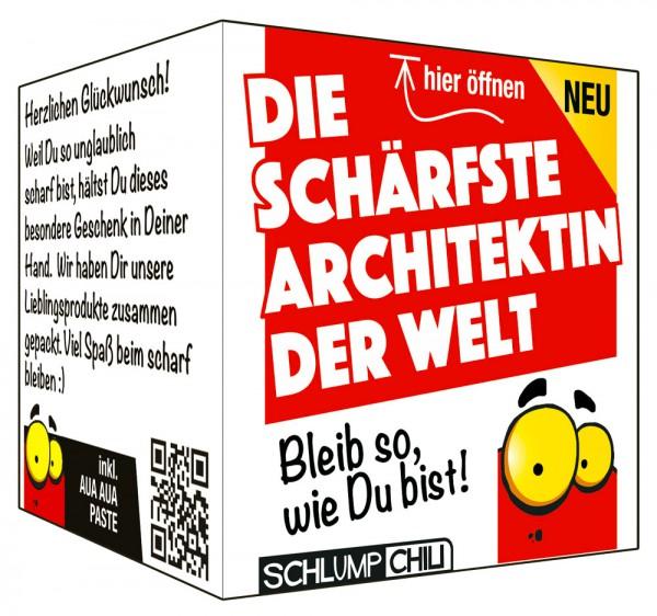 Die schärfste Architektin der Welt - Ein witziges Geschenk!