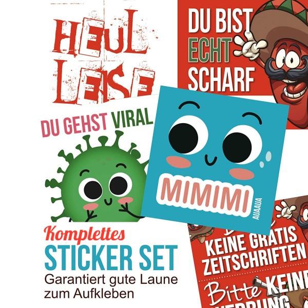 0-Sticker-Set-Mimimi-Viral-Heul-Leise